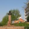 Памятник Валерию Быковскому - нашему земляку...
